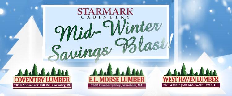Starmarrk Cabinetry Mid windter Blast