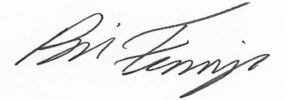 Bill Finnegan Signature